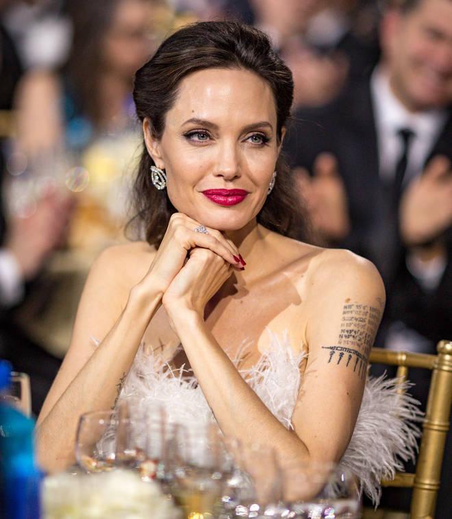 Angelina got a divorce from Brad Pitt in 2016