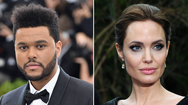 The Weeknd and Angelina Jolie have sparked dating rumours