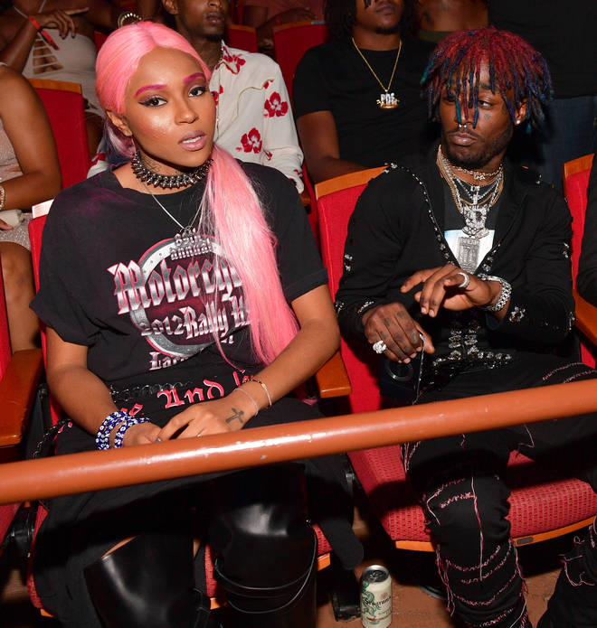 Brittany Byrd and Lil Uzi Vert attended the BET Awards in 2016.