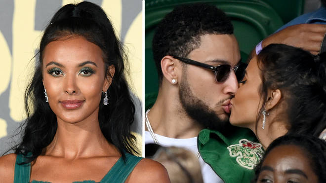 Maya Jama confirms relationship with NBA star Ben Simmons with PDA kiss