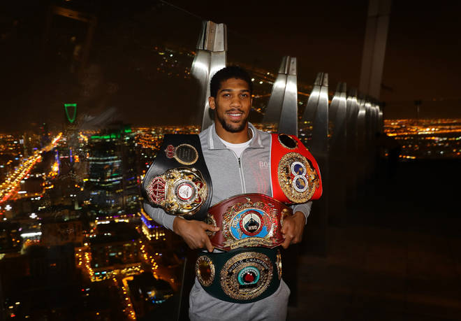 Anthony Joshua is a British professional boxer. He is a two-time unified world heavyweight champion