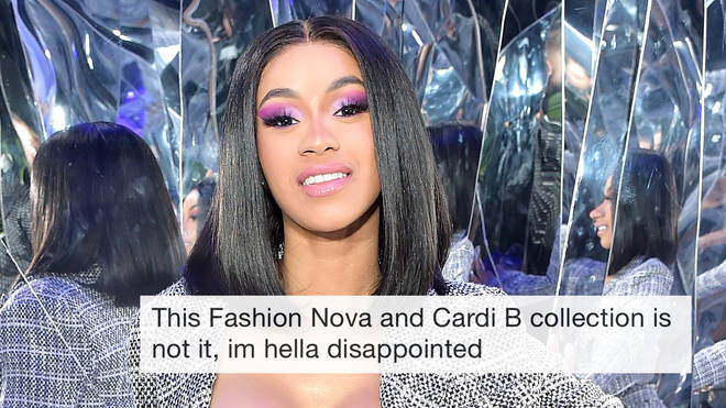 "Fans were left ""disappointed"" by Cardi&squot;s collection."