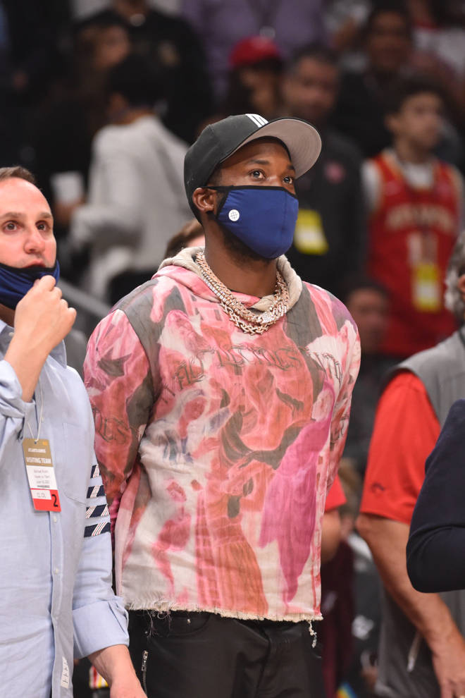 Meek Mill is yet to publicly address his rumoured clash with Travis Scott.