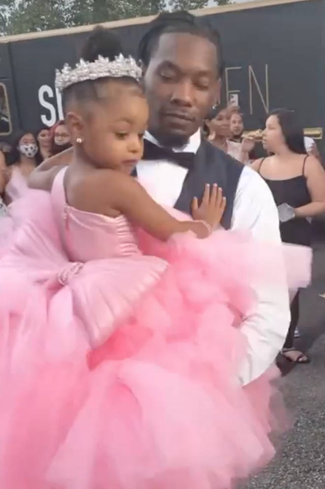 Offset gave his daughter a watch worth $ 250,000