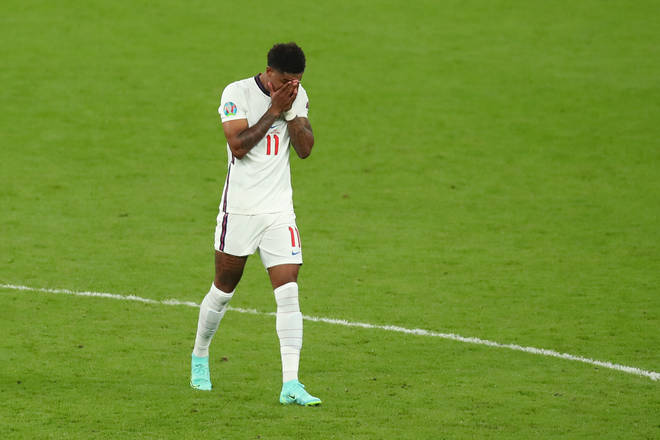 The Manchester United player spoke out after England's penalty shootout defeat to Italy in the Euro 2020 final on Sunday.