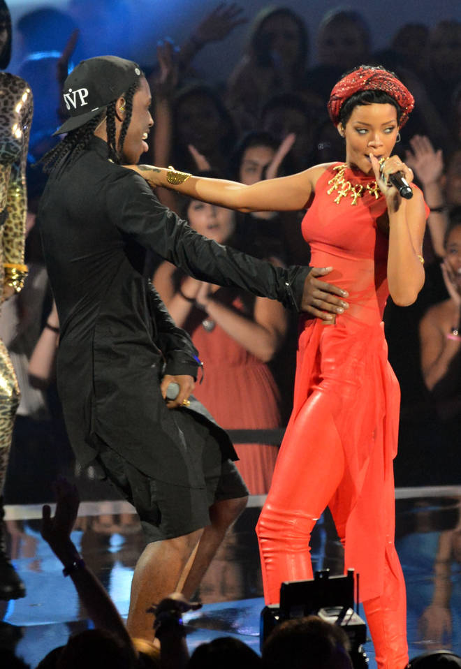 Rihanna and A$AP Rocky went on tour together in 2013