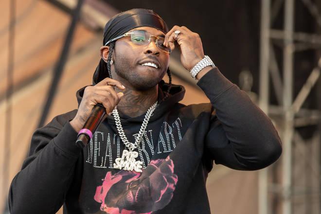 Pop Smoke's second posthumous album 'Faith' features 21 Savage, Chris Brown, Dua Lipa and more.