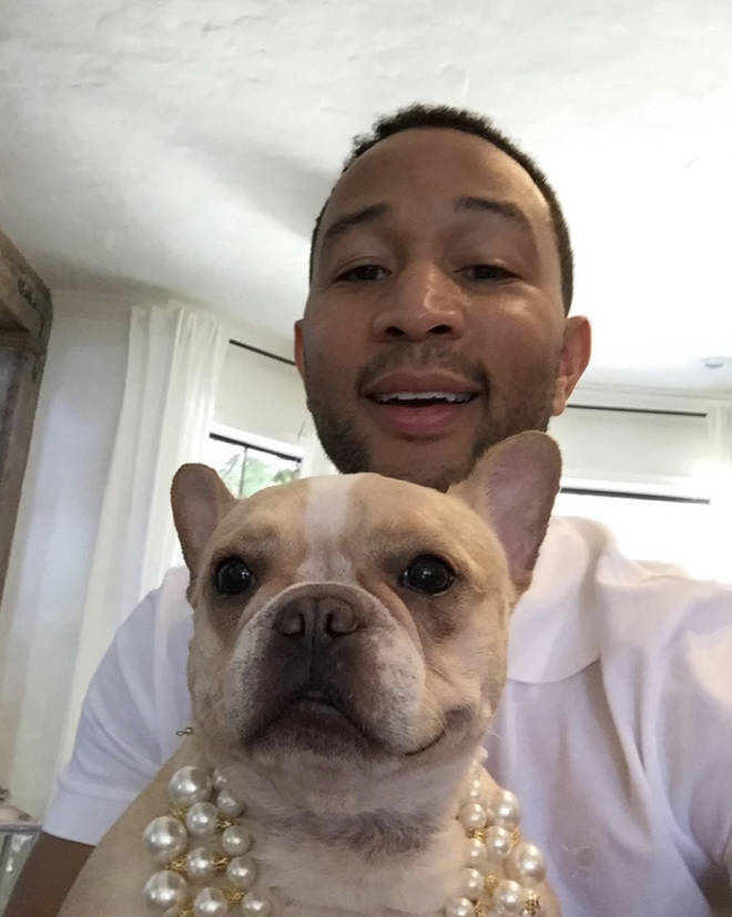 John Legend posts a photo of him and Pippa on Instagram.