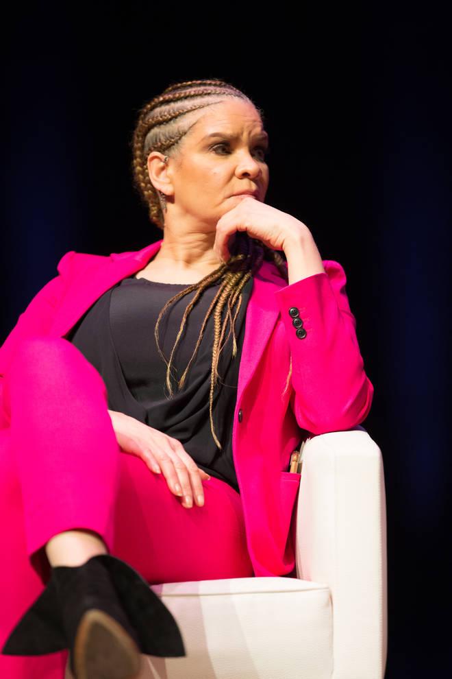 Michaela Angela Davis is a co-writer of 'The Hair Tales'.
