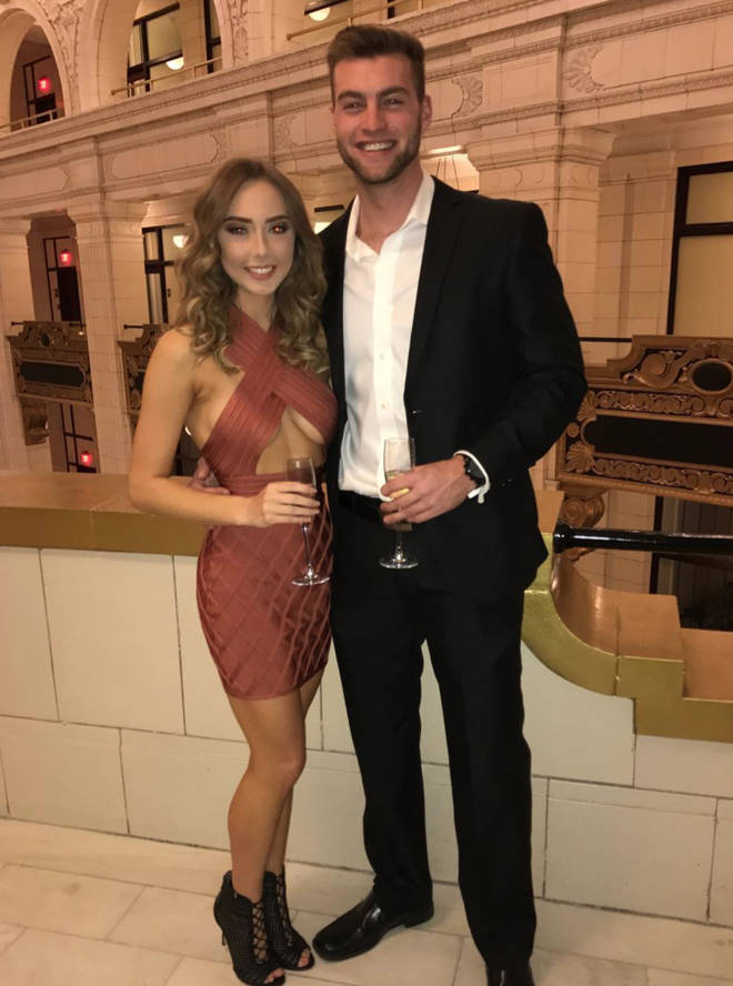 The pair have been together since 2016