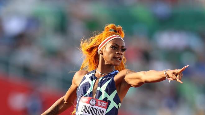 Sha'Carri Richardson is an olympic athlete