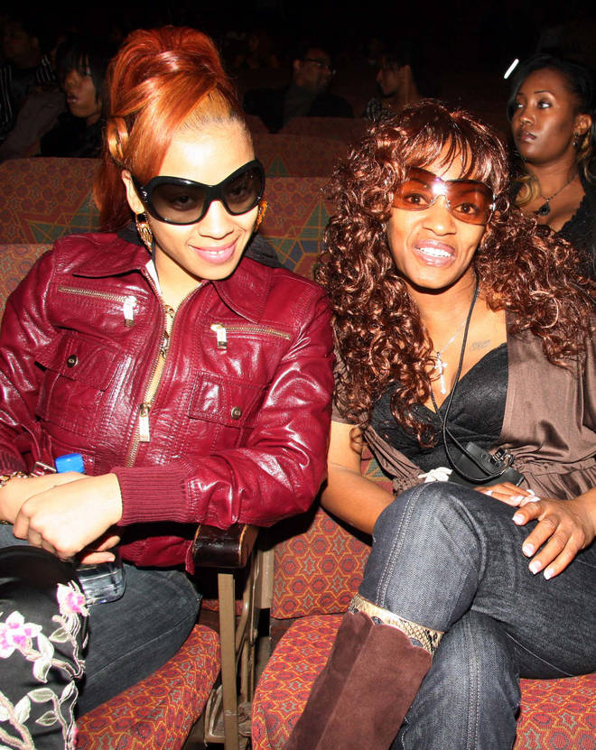 Keyshia Cole shares this photo of her and her late mother Frankie Lons on Instagram.