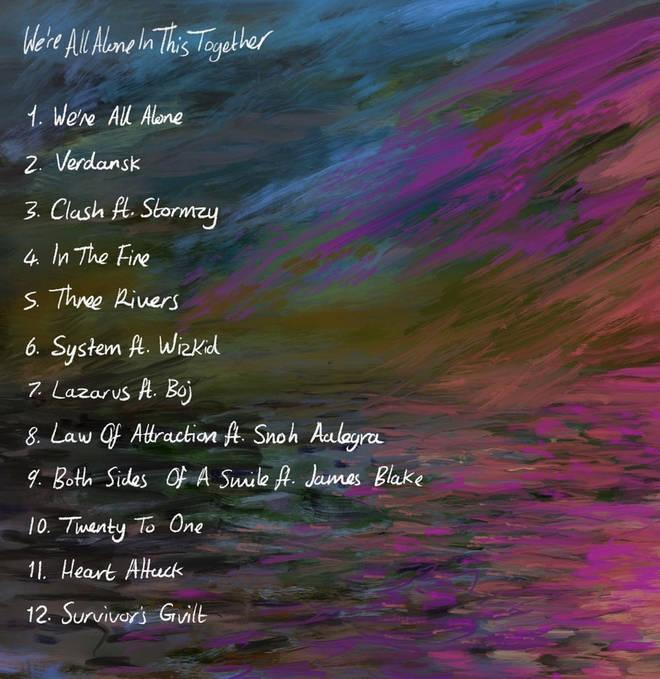 Dave's new album tracklist