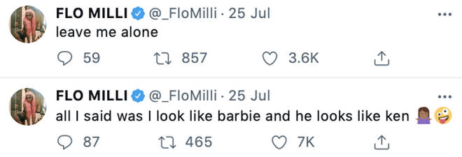 Flo Milli responds to fans sending her abuse online over her photo with Travis Scott