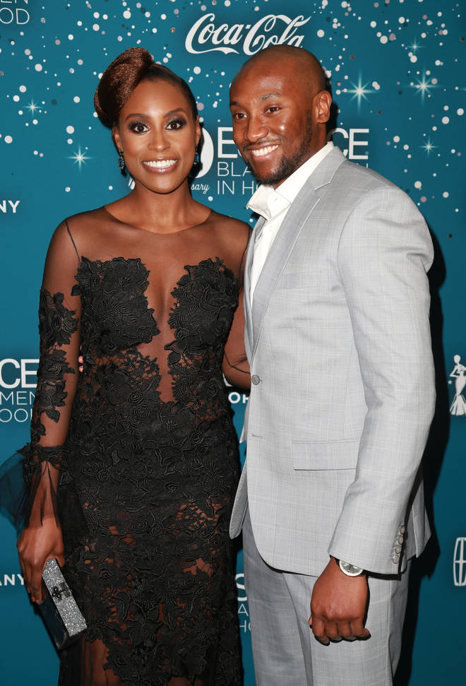 Issa Rae and Louis Diame sparked engagement rumours in March 2019 when Issa appeared on Essence's cover.
