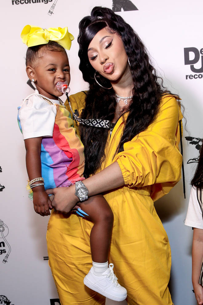 Cardi and Offset share three year old daughter, Kulture