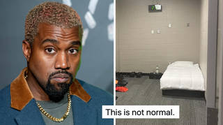 Kanye is living in the Mercedes Benz stadium