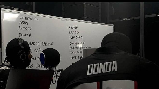 Rumoured Donda track-list
