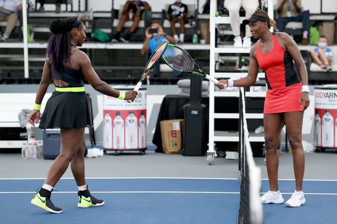 The film is based on the lives of tennis stars, sisters Venus and Serena Williams