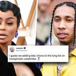 Blac Chyna 'transphobic' viral tweets aimed at ex-boyfriend Tyga explained