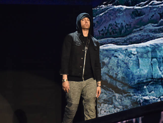 It is the first time Eminem and Nas have collaborated on a song together.