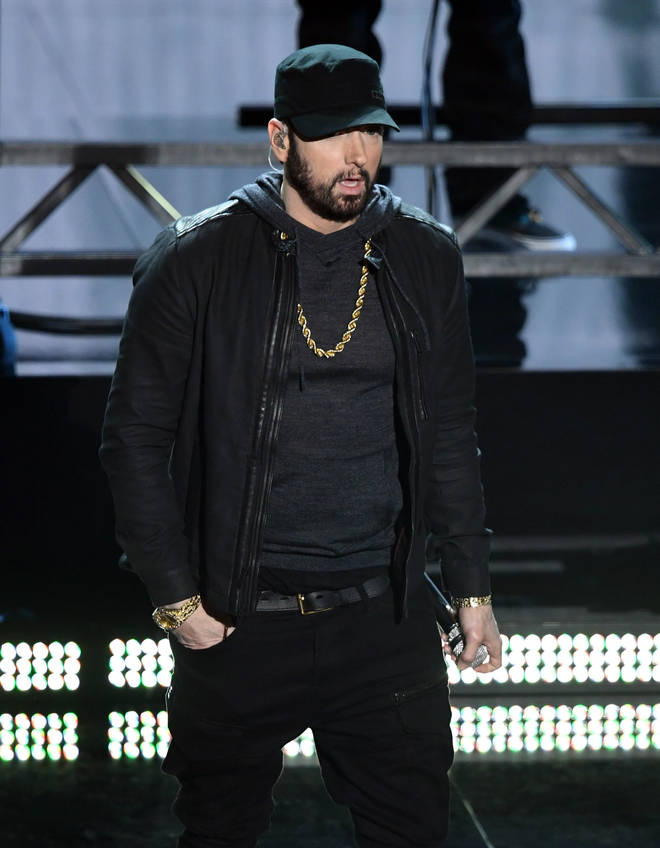 Eminem is yet to address the reports.
