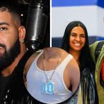 "Drake gifts rumoured girlfriend's son Amari Bailey custom ""10"" diamond chain"