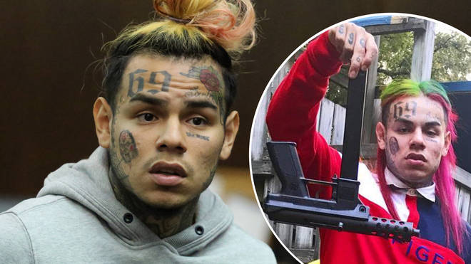 6ix9ine and his crew reportedly robbed a gang at gunpoint back in April.