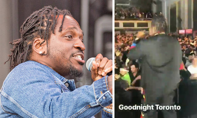 Pusha T blames Drake for people trying to attack him on stage