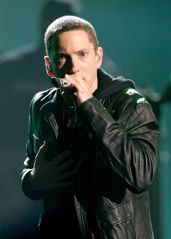 Eminem adopted Stevie when he was with his ex-wife Kim Scott.