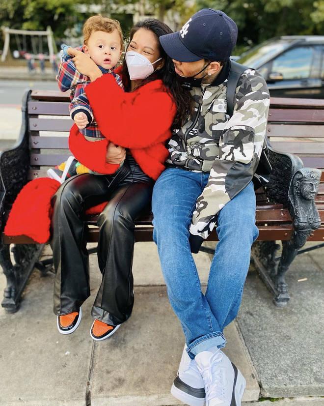 Chris Brown shares a son, Aeko Catori, with Ammika Harris.