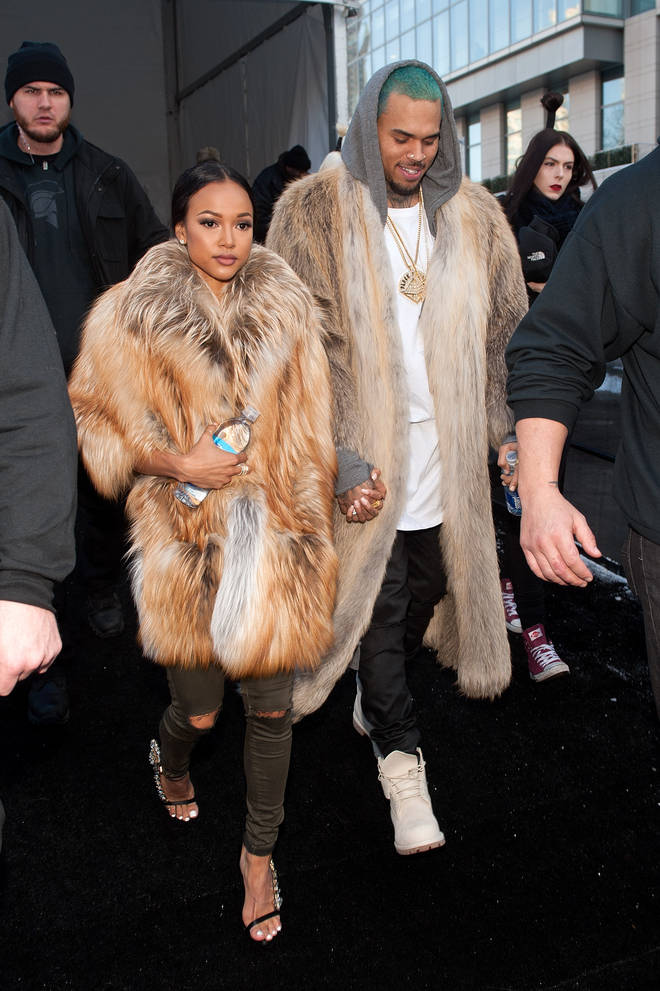 Chris Brown shared an on-off relationship with Karrueche Tran.