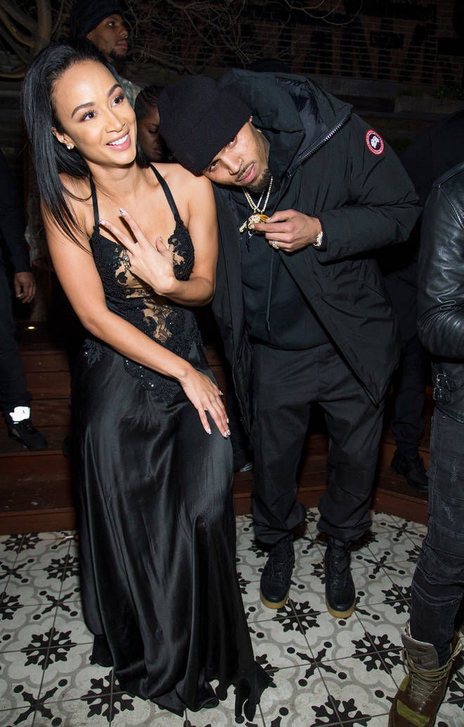 Brown briefly dated model Draya Michele in 2011.