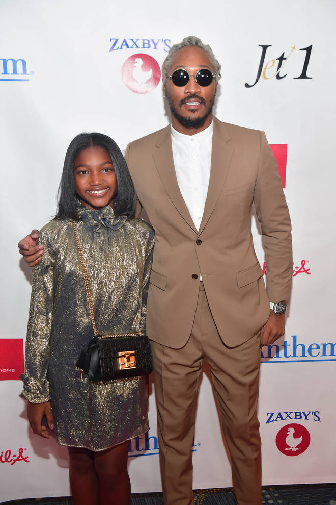 Future shares daughter Londyn with India J