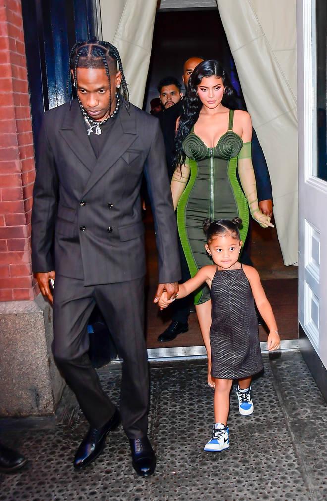 Kylie's last public appearance was alongside Travis Scott.