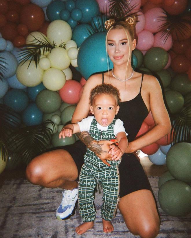 Iggy shares a son, Onyx, with ex-boyfriend and rapper Playboy Carti.