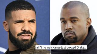 Kanye shocked fans by posting Drake's address