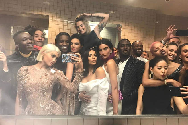 Sharing photos from inside the event is prohibited, but that hasn't stopped Kylie Jenner and other stars from taking snaps in the past.