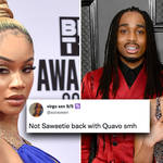 Saweetie fans react to Quavo relationship reconciliation rumours