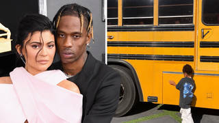 Kylie Jenner & Travis Scott labelled 'out of touch' after gifting Stormi yellow school bus