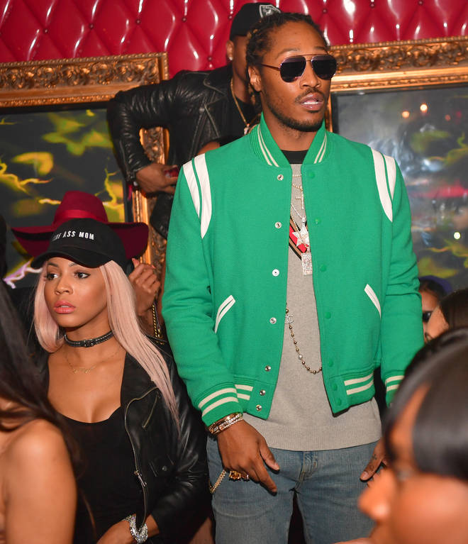 Future and Brittni Mealy dated and have a child together