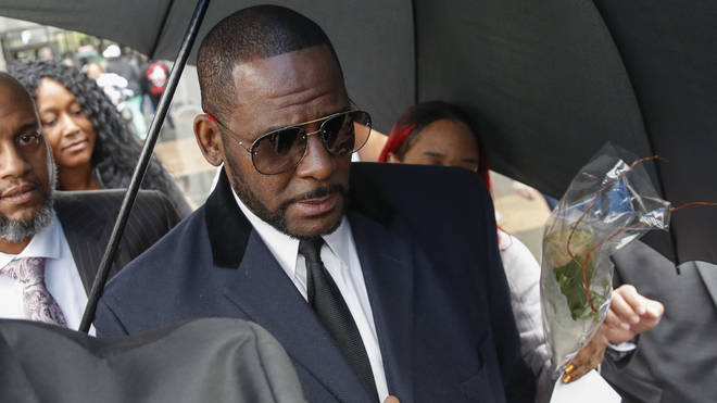 R. Kelly is currently on trial on racketeering and sex trafficking charges. He is also facing multiple sex charges.