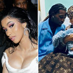 Cardi B confirms birth of second child with husband Offset