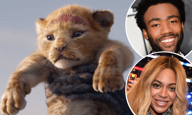 Glover plays Simba in the upcoming live action move, while Beyonce is set to voice Nala.