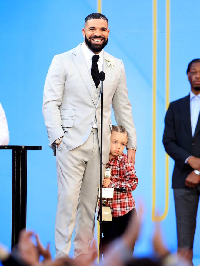 Drake references his son Adonis