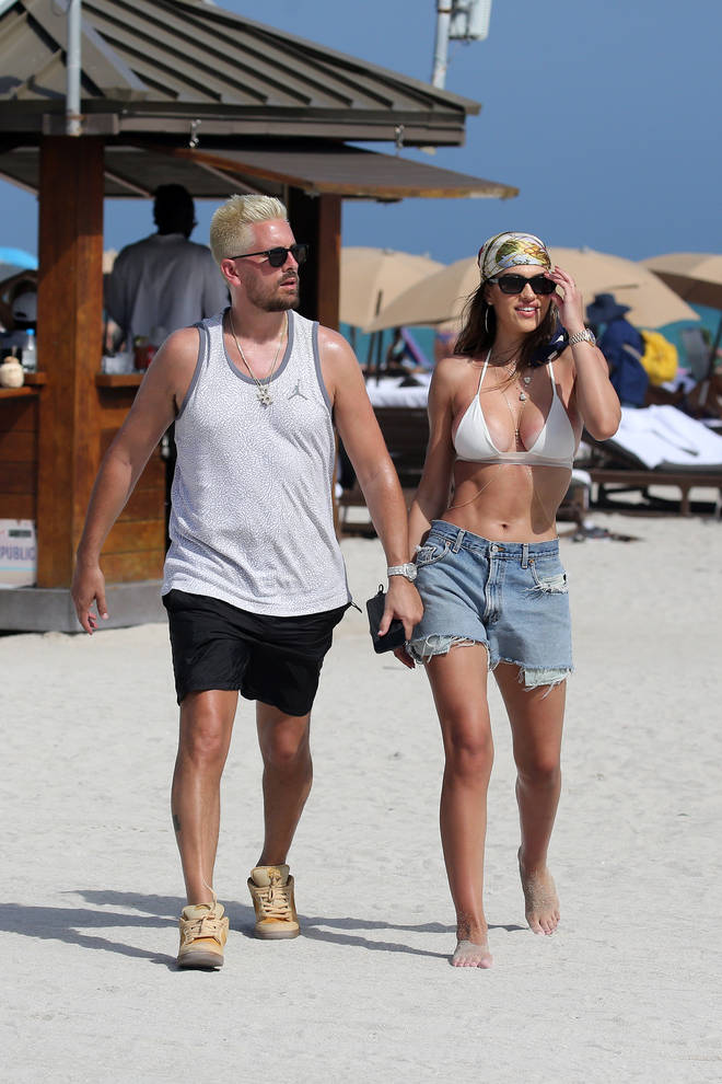 Scott and Amelia Hamlin first sparked rumours they were together in October 2020.