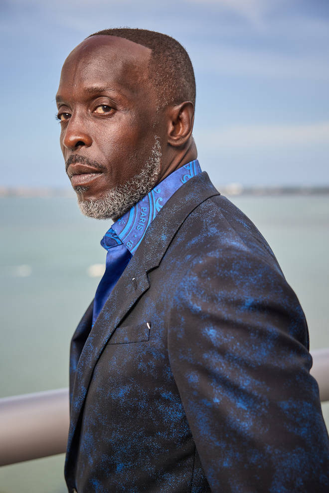The star is best known for his role in 'The Wire'.