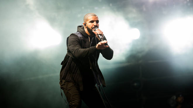 Drake performs at Wireless Festival in 2015.