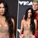 Megan Fox and Machine Gun Kelly VMA 2021 outfits: See-through dress & more