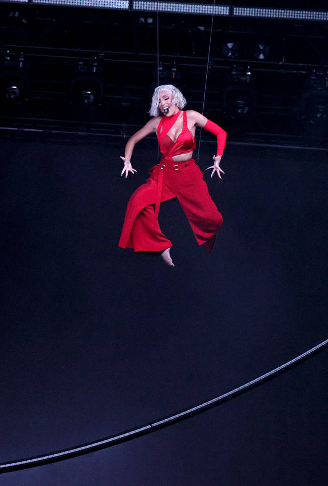 Doja was elevated for her performance